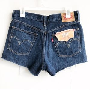 Levi's Shorts - (NWT) Levi's 501 High Waisted Button Fly Shorts